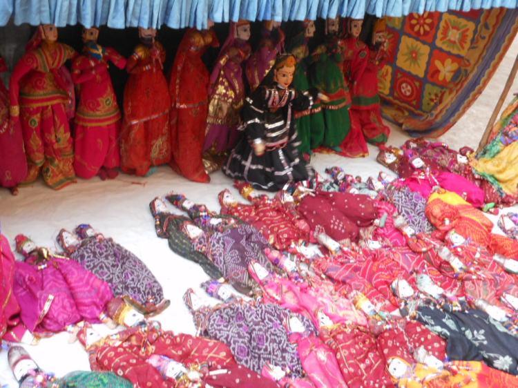 Tradicional teatro de marionetes do Rajastão