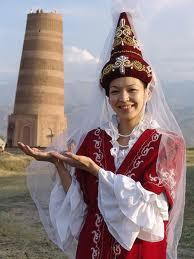 kyrgyz dress