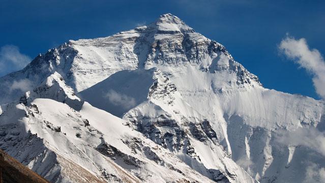 Mount Everest.