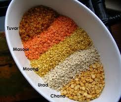 Vários tipos de lentilha