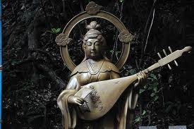 Bentensama, que na verdade, é a versão japonesa da deusa indiana Saraswati