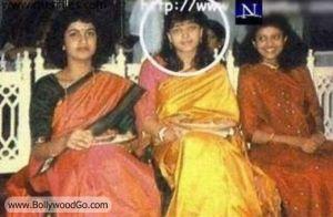 Você acreditaria se eu te dissesse que esta no centro da foto é a diva Aishwarya Rai?