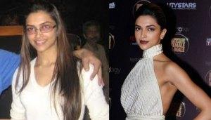 Maquilagem faz uma grande diferença, mas mesmo sem ela, a diva Deepika é linda, né?