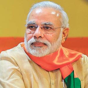 O novo e super aguardado primeiro ministro indiano Narendra Modi