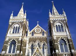 Uma das mais famosas igrejas de Mumbai