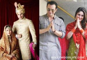 Saif e sua 2a esposa, Kareena Kapoor