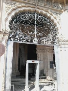 Nem a mesquita escapou do sistema de segurança