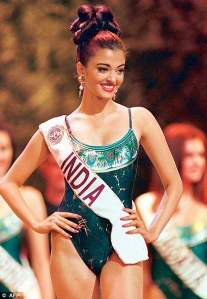 Aishwarya Rai in Miss World 1994