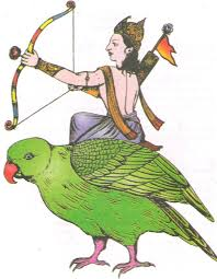Kamadeva - O deus que deu origem ao Cupido