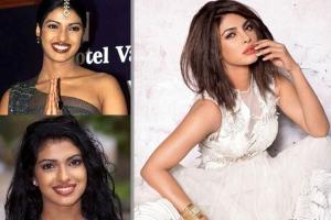 Priyanka antes e depois