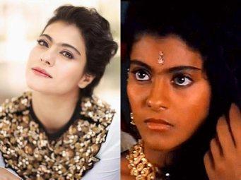 Um dos casos que chocou o publico foi a querida atriz Kajol. Voces podem ver a cor original de Kajol, que eh linda e, na primeira foto, uma Kajol versao europeia, apos seu tratamento para clarear a pele.
