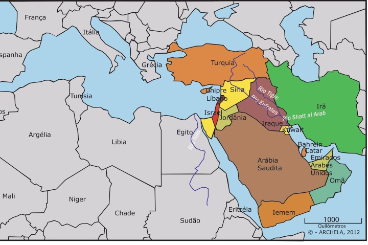 rios da mesopotâmia