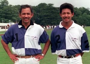 O sultao de Brunei e o seu irmao.