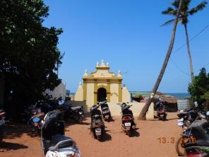 Entrada da Praia de Anjuna